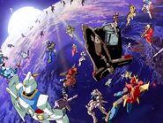 G Gundam cameos