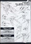 GN Armor Type-D Lineart