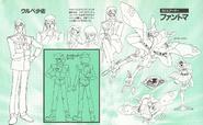 Fantoma and Ulube Lineart