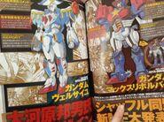Gundam MaxRevolver and Gundam Versailles