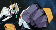 Nu Gundam fist