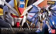 RG Strike Freedom Gundam Boxart