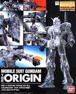 MG Gundam The Origin Mechanical Clear Ver