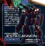 RGM-96X - Jesta Cannon - Summary