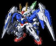Super Robot Wars Z3 Tengoku Hen Mecha Sprite GN-0000RE+GNR-010 00 Raiser Condenser Type