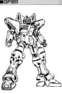 RX-78GP03S Gundam Early Design