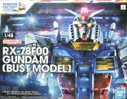 1-48 RX-78F00 Gundam -BUST MODEL-