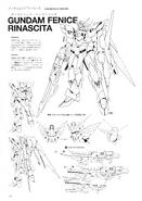 Gundam Fenice Rinascita Lineart 1