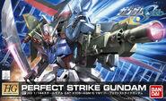 HG - Perfect Strike Gundam Box Art