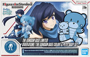 Figure-Rise Standard-Diver Ayame (Gundam Base Color) & Petit'gguy Set