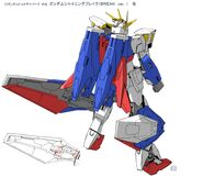 Gundam Shining Break Break Ver Rear Setting
