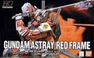 HG - MBF-P02 Gundam Astray Red Frame - Boxart