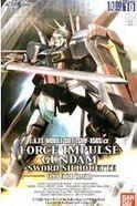 1-100 Force Impulse Gundam Sword Silhouette