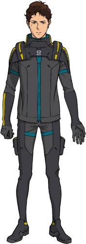 U.C. 0105(Pilot Suit, Front)