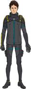 Hathaway 105 pilot suit front