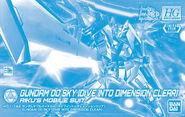 HGBD Gundam 00 Sky -Dive Into Dimension Clear-