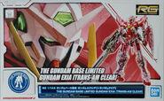 RG Gundam Exia -Trans-Am Clear-