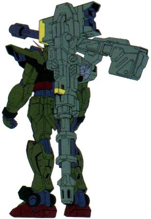 Sumbullet Raigo Gundam (Rear)