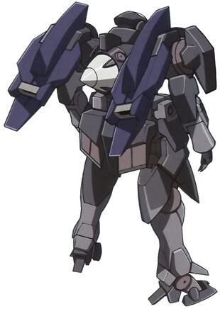 Rear (Commander w/Surplus Particle Tanks)