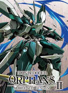 Mobile Suit Gundam IRON-BLOODED ORPHANS 2ND BD Vol.6