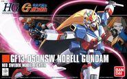 HG - GF13-050NSW Nobel Gundam - Boxart