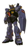 RX-178 - Gundam Mk-II (Titans Colors) - Front View