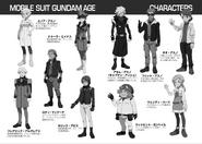 Age Novel Characters Sheet 1