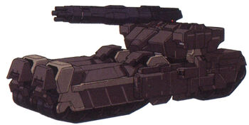 Tank Mode (Mega Machine Cannon Type)