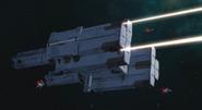 Ural-Class Laser Cannons Firing 02 (00 S2,Ep23)