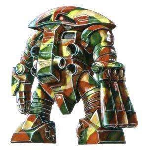Camouflage w/ right manipulator (MSV)