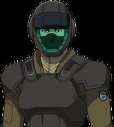 V ECOAS soldier