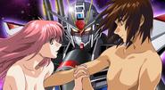 Kira, Lacus & Strike Freedom 02 (Seed Destiny HD Ep41 End-OP)