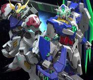 Gundam Barbatos Lupus & 00 Qan[T] (SGR PV 01)