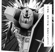 Ms Gundam charging