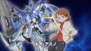 Kio Asuno & Gundam AGE-3