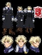 Kyoya Kujo character sheet