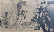 RG Crossbone Gundam X-1 -Titanium Finish-