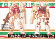 GFF - RX782 Gundam Seven Eleven Ver