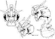 Lightning Gundam head