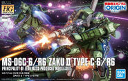 HG Zaku II Type C-6R6