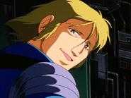 Mobile Suit Gundam Journey to Jaburo PS2 Cutscene 065 Sleggar