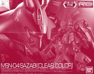 RG Sazabi -Clear Color-
