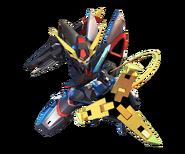''SD Gundam G Generation Crossrays'' Blitz Gundam