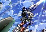 GN-001 Gundam Exia - Defeating AEU Enact Demonstration