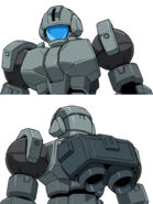 OZ-06MS[MPD] Leo NPD Head Variants 1