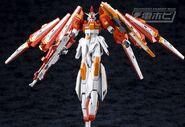 BN-876β Hot Scramble Gundam (Gunpla) (Action Mode)
