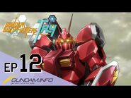 GUNDAM BUILD FIGHTERS TRY-Episode 12- To Fly To the Future (ENG dub)