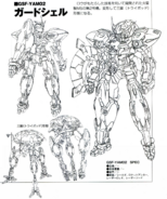 GSF-YAM02 Guardshell Lineart