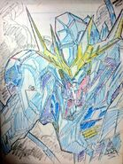 ASW-G-08 Gundam Barbatos Lupus Rex cel concept art