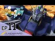 GUNDAM BUILD FIGHTERS TRY-Episode 11- Nielsen Labs (ENG dub)